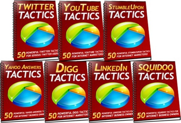 Product picture 350 Social Traffic Tactics