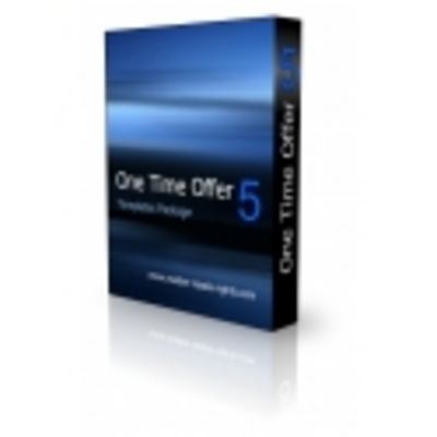 Product picture One Time Offer - Template Package
